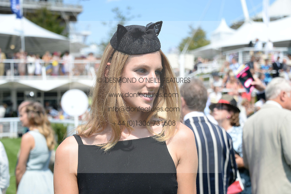 SUSANNA WARREN at the 3rd day of the 2013 Glorious Goodwood racing festival - Ladies day at Goodwood Racecourse, West Sussex on 1st August 2013.