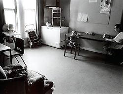 Women's refuge for battered women, Kitchen / communal area