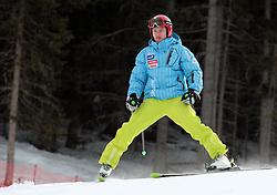 17/12/2010 ALPINE SKI WORLD CUP VAL GARDENA 2010 FIS SKI WELT CUP. Andrej Krizaj of Slovenia prior to the Audi FIS Alpine Ski World Cup Men's SuperG on December 17, 2010 in Val Gardena, Italy.  © Photo Pierre Teyssot / Sportida.com.
