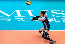 16-10-2018 JPN: World Championship Volleyball Women day 17, Nagoya<br /> Netherlands - China 1-3 / Changning Zhang #9 of China