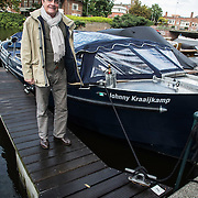 NLD/Amsterdam/20140820 - Doop Johnny Kraaijkamp Sr. boot, Jonny Jr.
