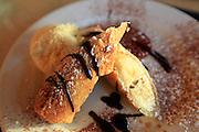 Fried Banana, Talon Lodge, Sitka, Alaska