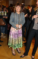 "Fashion writer HILARY ALEXANDER at a book signing hosted by Tod's for Dante Ferretti's new book 'The Art of Production Design"" held at the Tod's store, 2/3 Old Bond Street, London on 19th April 2005.<br />