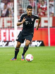 Football: Germany, Supercup 2012, FC Bayern Munich, Muenchen, 12.08.2012.Emre CAN (Bayern).© pixathlon