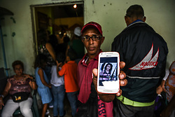 January 1, 2018 - Caracas, Venezuela - Funeral in Caracas, on 2 January 2018, of Alexandra Esterfan Conopoy Herrera, 18 years old, the young woman was killed by an official of the Bolivarian National Guard while waiting for the delivery of a ham by president Maduro government for the end of the year dinner. The official David José Rebolledo (Detained), being under the influence of alcohol, shot against the crowd that waited for the trucks that brought the food. (Credit Image: © Roman Camacho/NurPhoto via ZUMA Press)