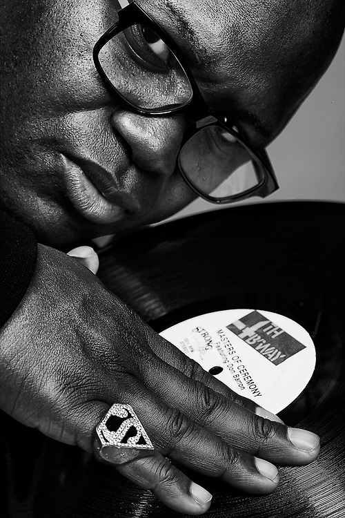 Grand Wizzard Theodore photographed in New York City