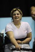 Birmingham, Great Britain,  Women's, A final, Caroline MACDONALD, Silver medallist from Tees RC competing at the 2008 British Indoor Rowing Championships, National Indoor Arena. on  Sunday 26.10.2008 . [Photo, Peter Spurrier/Intersport-images] .