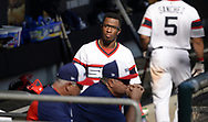 CHICAGO - SEPTEMBER 10:  Tim Anderson #7 of the Chicago White Sox looks on from the dugout during the game against the San Francisco Giants on September 10, 2017 at Guaranteed Rate Field in Chicago, Illinois.  The White Sox defeated the Giants 8-1.  (Photo by Ron Vesely) Subject:   Tim Anderson