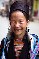 Black H'mong Tribal Woman - The terms Hmong  and Mong  refer to an Asian ethnic group in the mountainous regions of southeast Asia.  Hmong groups began a gradual southward migration due to political unrest and to find more arable land. As a result, Hmong live in several countries in Southeast Asia, including northern Vietnam, Laos, Thailand and Burma.  There are various types of Hmong throughout Southeast Asia, including Black Hmong and Flower Hmong, named after the styles of their clothing and costumes.