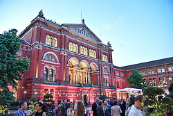 Atmosphere at the Victoria & Albert Museum's Summer Party in partnership with Harrods at The V&A Museum, Exhibition Road, London, England. 20 June 2018.