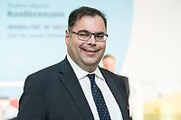 """19 NOV 2018, BERLIN/GERMANY:<br /> Ingo Wortmann, Praesident des Verbandes Deutscher Verkehrsunternehmen, F.A.Z. Konferenz """"Mobilitaet in Deutschland - Zeit fuer neues Denken und Handeln"""", F.A.Z. Atrium<br /> IMAGE: 20181119-01-027<br /> KEYWORDS: F.A.Z."""