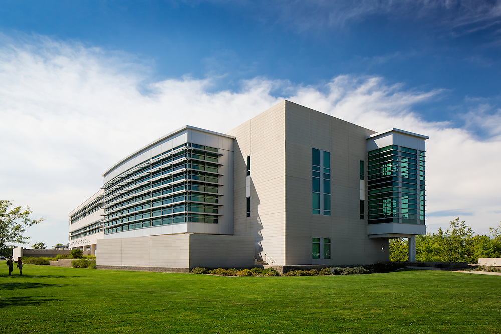 Image of Sacramento County Juvenile Superior Court Civic Architecture Examples of Chip Allen Photography.