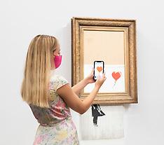 Sotheby's Banksy Love Is In The Bin 3rd September 2021