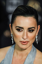 Actress Penelope Cruz poses as she arrives at the red carpet of the 33rd Goya Awards, celebrated at the Conference Center, in Seville, southern Spain, February 2, 2019. Photo by Archie Andrews/ABACAPRESS.COM