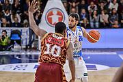 DESCRIZIONE : Campionato 2015/16 Serie A Beko Dinamo Banco di Sardegna Sassari - Umana Reyer Venezia<br /> GIOCATORE : Rok Stipcevic<br /> CATEGORIA : Palleggio<br /> SQUADRA : Dinamo Banco di Sardegna Sassari<br /> EVENTO : LegaBasket Serie A Beko 2015/2016<br /> GARA : Dinamo Banco di Sardegna Sassari - Umana Reyer Venezia<br /> DATA : 01/11/2015<br /> SPORT : Pallacanestro <br /> AUTORE : Agenzia Ciamillo-Castoria/L.Canu