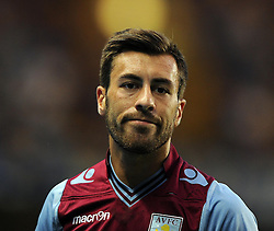 "Aston Villa's Antonio Luna  - Photo mandatory by-line: Joe Meredith/JMP - Tel: Mobile: 07966 386802 21/08/2013 - SPORT - FOOTBALL - Stamford Bridge - London - Chelsea V Aston Villa - Barclays Premier League - EDITORIAL USE ONLY. No use with unauthorised audio, video, data, fixture lists, club/league logos or ""live"" services. Online in-match use limited to 45 images, no video emulation. No use in betting, games or single club/league/player publications"