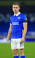 Brighton and Hove Albion midfielder Leandro Trossard (11) PORTRAIT during the Premier League match between Brighton and Hove Albion and Everton at the American Express Community Stadium, Brighton and Hove, England UK on 12 April 2021.