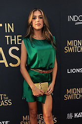 Sistine Rose Stallone at the Los Angeles special screening of 'Midnight In The Switchgrass' held at the Regal LA Live in Los Angeles, USA on July 19, 2021.