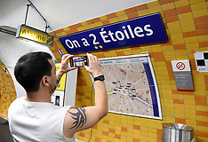 Metro Stations Renamed To Honor World Champions - 17 July 2018