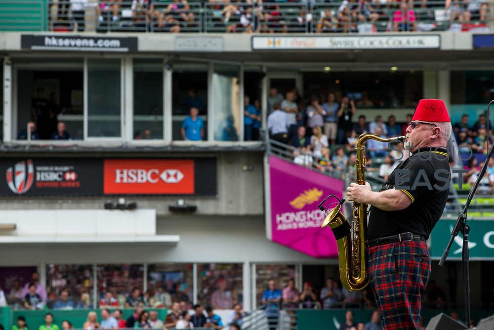 March Past event during the Cathay Pacific / HSBC Hong Kong Sevens at the Hong Kong Stadium on 08 April 2017 in Hong Kong, China. Photo by Mike Pickles / Future Project Group