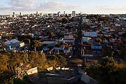 Araxa_MG, Brasil...Vista panoramica do centro de Araxa...The panoramic view of Araxa downtown...Foto: MARCUS DESIMONI / NITRO