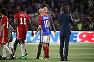 Zinedine Zidane (France 98), Arsene Wenger (FIFA 98), Usain Bolt (FIFA 98) during the 2018 Friendly Game football match between France 98 and FIFA 98 on June 12, 2018 at U Arena in Nanterre near Paris, France - Photo Stephane Allaman / ProSportsImages / DPPI