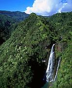 Manawaipuna Falls, Kauai, Hawaii, USA<br />