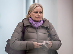 **File picture of CHRISTINE SHAWCROFT  who has resigned from The head of the Labour Party's disputes panel after it emerged she opposed the suspension of a council candidate accused of Holocaust denial**<br /> © Licensed to London News Pictures. 23/01/2018. London, UK. Christine Shawcroft leaves Labour Party headquarters after attending a National Executive Committee meeting.  Photo credit: Peter Macdiarmid/LNP