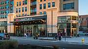 The northwest corner of The Bartlett in Arlington, Virginia -- exterior design by Maurice Walters Architect
