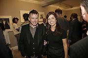 STEVE SHAVE AND ALISON JACQUES, Photos by Robert Mapplethorpe: Still Moving & Lady, Alison Jacques Gallery, 4 Clifford Street, London, W1, Dinner afterwards at the  The Dorchester with performance by Patti Smith, 7 September 2006.  ONE TIME USE ONLY - DO NOT ARCHIVE  © Copyright Photograph by Dafydd Jones 66 Stockwell Park Rd. London SW9 0DA Tel 020 7733 0108 www.dafjones.com