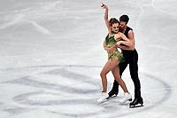Gabriella PAPADAKIS, Guillaume CIZERON France <br /> Ice Dance Short Dance <br /> Milano 23/03/2018 Assago Forum <br /> Milano 2018 - ISU World Figure Skating Championships <br /> Foto Andrea Staccioli / Insidefoto