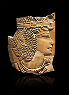 Ancient Egyptian tomb relief sculpture of King Amenhotep III from the grave of Chaemhat, Thebes West. 18th Dynasty 1360 BC. Neues Museum Berlin AM 14503.