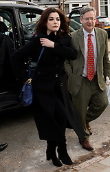 TV Chef Nigella Lawson arrives at Isleworth Crown Court to give evidence at the trial for Francesca and Elisabetta Grillo, the former aides of Charles Saatchi and Nigella Lawson who allegedly defrauded the couple out of money using company credit cards. Isleworth Crown Court. Thursday, 5th December 2013. Picture by Ben Stevens / i-Images<br /> File Photo  - Nigella Lawson and Charles Saatchi PAs cleared of fraud. The trial of Francesca Grillo, 35, and sister Elisabetta, 41, heard they spent £685,000 on credit cards owned by the TV cook and ex-husband Charles Saatchi.<br /> Photo filed Monday 23rd December 2013