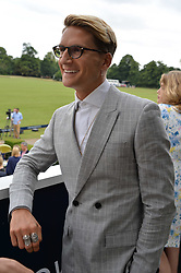 Oliver Proudlock at the Laureus King Power Cup polo match held at Ham Polo Club, Richmond, London England. 22 June 2017.<br /> Photo by Dominic O'Neill/SilverHub 0203 174 1069 sales@silverhubmedia.com