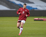 Tony Clubb (17) of Wigan Warriors during the pre-game warm up