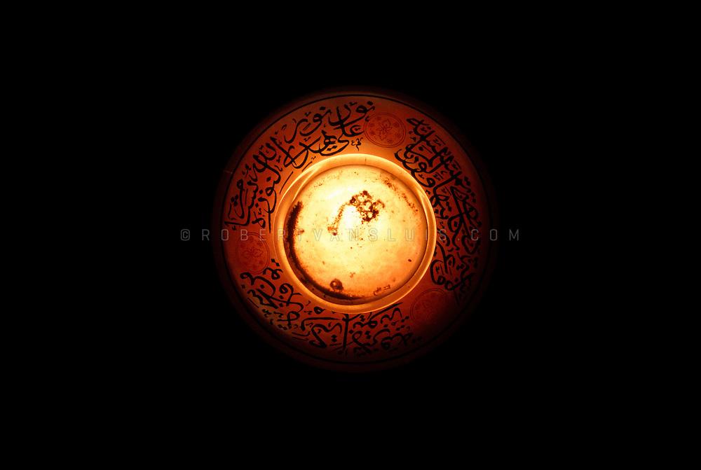 Mosque lamp, Cairo, Egypt