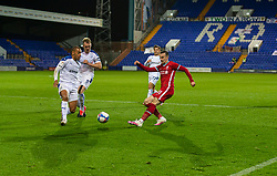 BIRKENHEAD, ENGLAND - Tuesday, September 29, 2020: Liverpool's Liam Millar during the EFL Trophy Northern Group D match between Tranmere Rovers FC and Liverpool FC Under-21's at Prenton Park. Tranmere Rovers won 3-2. (Pic by David Rawcliffe/Propaganda)