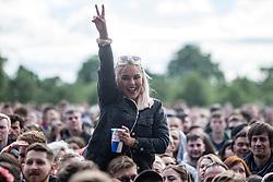 London Grammar on the main stage, Friday at TRNSMT music festival, Glasgow Green.