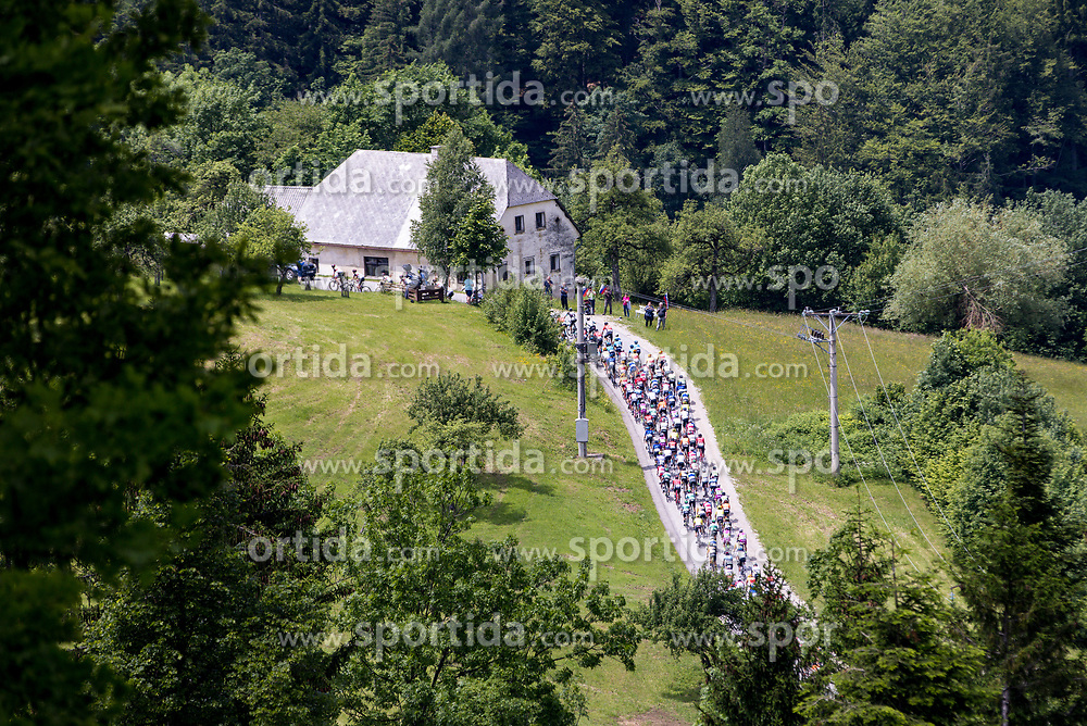 Peloton during 2nd Stage of 27th Tour of Slovenia 2021 cycling race between Zalec and Celje (147 km), on June 10, 2021 in Slovenia. Photo by Matic Klansek Velej / Sportida