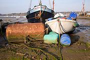 Boats, Pin Mill, Suffolk, England