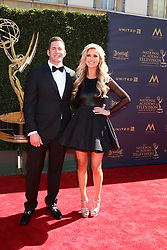 April 30, 2017 - Pasadena, CA, USA - LOS ANGELES - APR 30:  Tarek El Moussa, Christina El Moussa at the 44th Daytime Emmy Awards - Arrivals at the Pasadena Civic Auditorium on April 30, 2017 in Pasadena, CA (Credit Image: © Kathy Hutchins/via ZUMA Wire via ZUMA Wire)