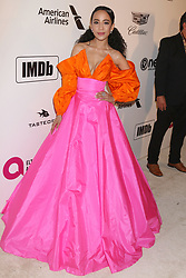 February 24, 2019 - West Hollywood, CA, USA - LOS ANGELES - FEB 24:  Fiona Xie at the Elton John Oscar Viewing Party on the West Hollywood Park on February 24, 2019 in West Hollywood, CA (Credit Image: © Kay Blake/ZUMA Wire)