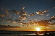 Sunset from Kihei on Maui.