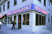 Tom's Restaurant (From Seinfeld), Broadway, Upper West Side, Manhattan, New York