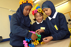 Starting Point' school for children from refugee and migrant families; Bolton; Greater Manchester, The children stay here for about 4 weeks before they are integrated into mainstream education,