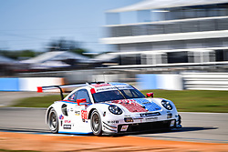 March 14, 2019 - Sebring, Etats Unis - 911 PORSCHE GT TEAM (DEU) PORSCHE 911 RSR GTLM PATRICK PILET (FRA) NICK TANDY (GBR) FREDERIC MAKOWIECKI  (Credit Image: © Panoramic via ZUMA Press)