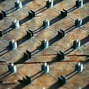 Textile printing pattern, Szentendre, Hungary (April 2007)