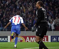 PORTO/MANCHESTER UNITED CHAMPIONS LEAGUE 25/02/04 PHOTO:NUNO ALEGRIA/FOTOSPORTS INT'L<br /> BENNI MACCARTHY celebrates Porto's 2nd goal