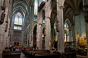 Koln Cologne Dom Cathedral, internal shot.