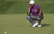 Anirban Lahiri (IND) held the lead at one stage at -5 during Round One of the 2015 Alstom Open de France, played at Le Golf National, Saint-Quentin-En-Yvelines, Paris, France. /02/07/2015/. Picture: Golffile | David Lloyd<br /> <br /> All photos usage must carry mandatory copyright credit (© Golffile | David Lloyd)
